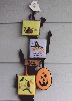 Halloween Minis - (Cross Stitch)