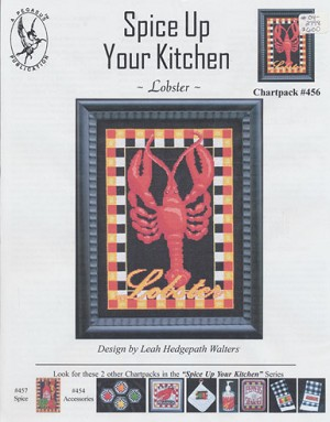 Spice Up Your Kitchen - Lobster - (Cross Stitch)