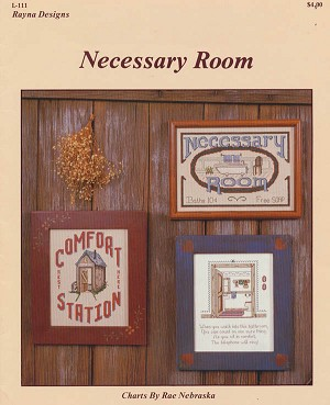 Necessary Room - (Cross Stitch)