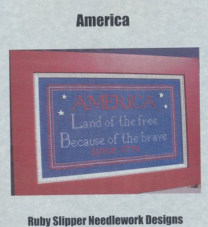 America - (Cross Stitch)