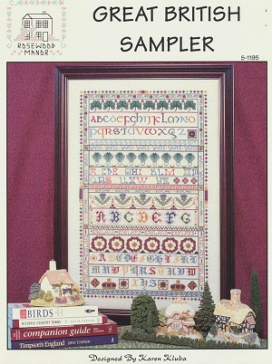 Great British Sampler - (Cross Stitch)