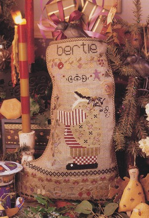 Bertie's Stocking - (Cross Stitch)