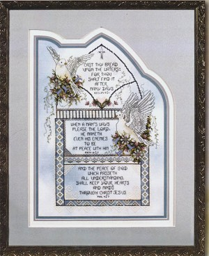 Peace of God - (Cross Stitch)