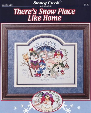 There's Snow Place like Home - (Cross Stitch)