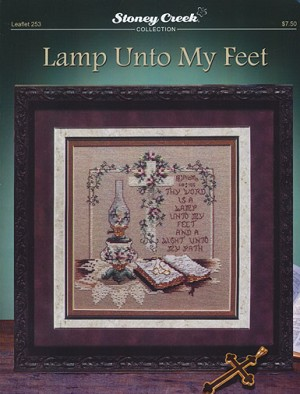 Lamp Unto My Feet - (Cross Stitch)