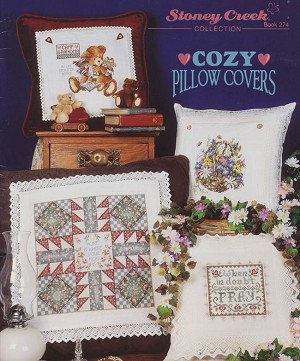Cozy Pillow Covers - (Cross Stitch)