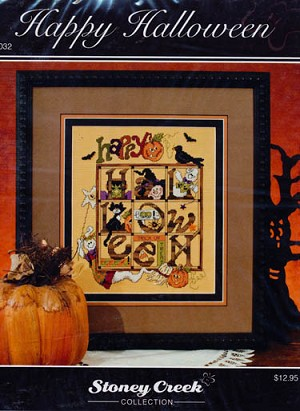Happy Halloween - (Cross Stitch)