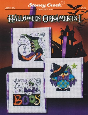 Halloween Ornaments I - (Cross Stitch)