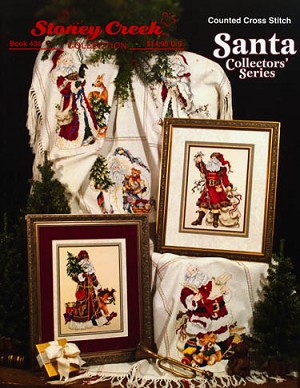 Santa Collectors' Series - (Cross Stitch)