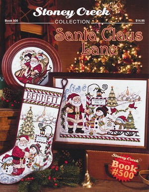 Santa Claus Lane - (Cross Stitch)