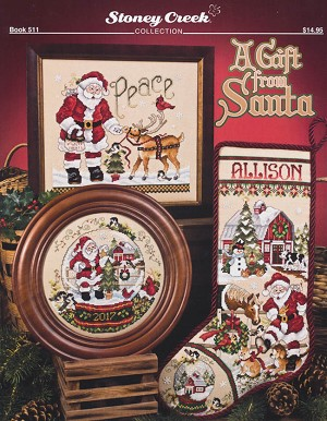 A Gift from Santa - (Cross Stitch)