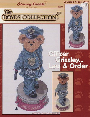 Officer Grizzley - Law & Order - (Cross Stitch)