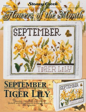 Flowers of the Month - September - (Cross Stitch)