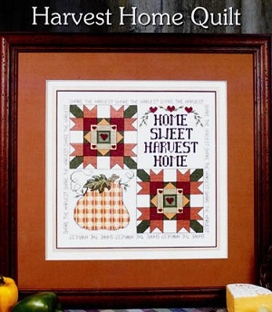 Harvest Home Quilt - (Cross Stitch)