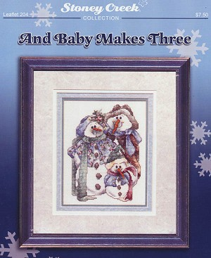 And Baby Makes Three - (Cross Stitch)