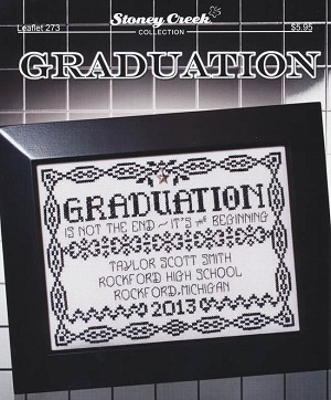 Graduation - (Cross Stitch)