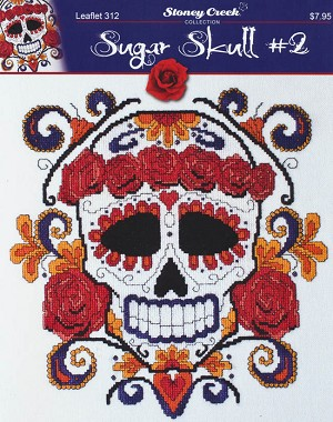 Sugar Skull #2 - (Cross Stitch)