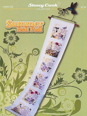 Summer Bell Pull - (Cross Stitch)