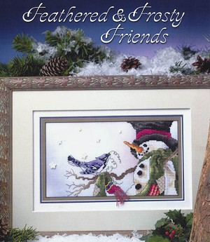 Feathered & Frosty Friends - (Cross Stitch)