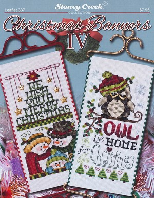 Christmas Banners IV - (Cross Stitch)