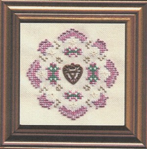 Hearts-a-Flutter - (Cross Stitch)