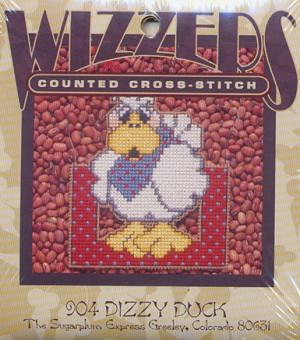 Dizzy Duck - (Cross Stitch)