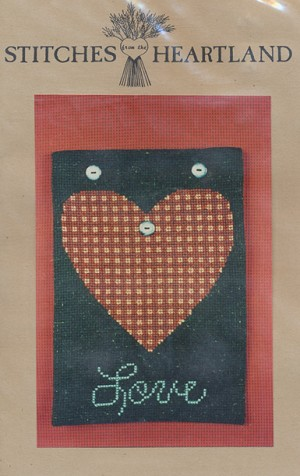Love Banner - (Cross Stitch)