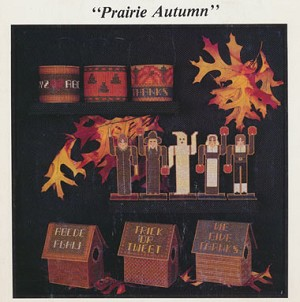 Prairie Autumn - (Cross Stitch)
