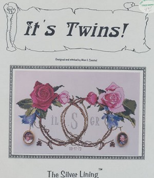 It's Twins - (Cross Stitch)