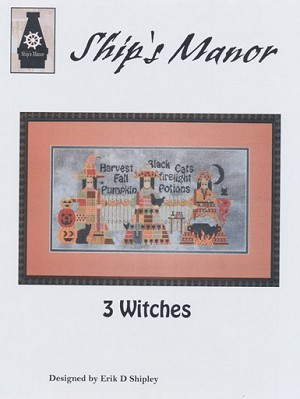 3 Witches - (Cross Stitch)
