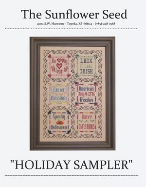 Holiday Sampler - (Cross Stitch)