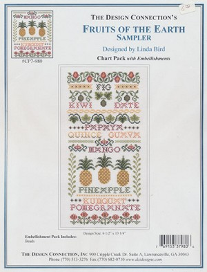 Fruits of the Earth Sampler - (Cross Stitch)