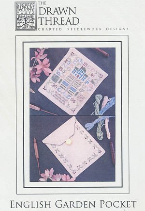 English Garden Pocket - (Cross Stitch)