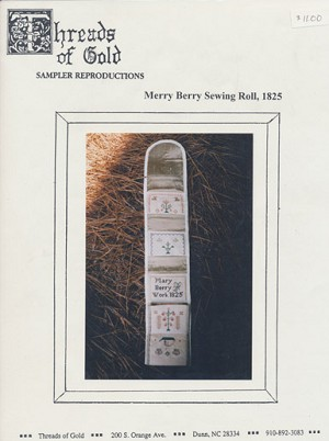 Merry Berry Sewing Roll, 1825 - (Cross Stitch)