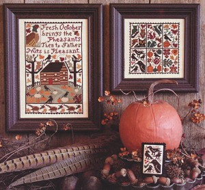 October - (Cross Stitch)