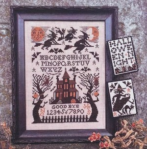 Witching Hour - (Cross Stitch)
