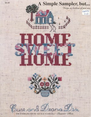 Home Sweet Home - (Cross Stitch)
