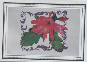 Epiphyllum #1 - (Cross Stitch)
