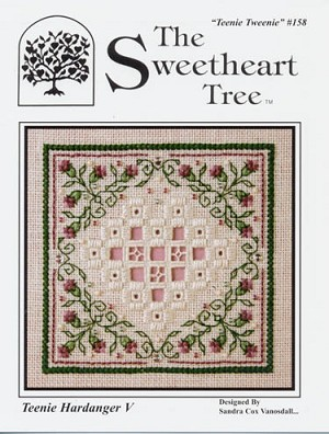 Teenie Hardanger V - (Cross Stitch)