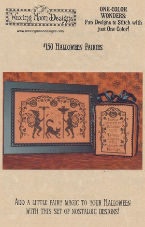 Halloween Fairies - (Cross Stitch)