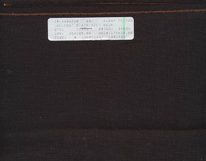 "32 Count Black Belfast Linen 27 1/2"" x 38"" - (Cross Stitch)"