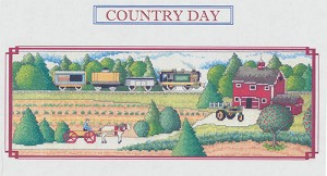 Country Day - (Cross Stitch)