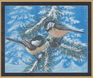 Little Feathers - (Cross Stitch)
