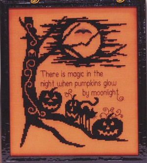 Magic In The Night - (Cross Stitch)