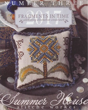Fragments in Time #3 - (Cross Stitch)