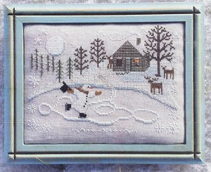 In the Moonlight - (Cross Stitch)
