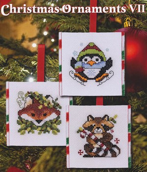 Christmas Ornaments VII - (Cross Stitch)
