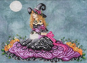 Luna Witch - (Cross Stitch)
