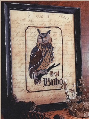 The Owl: Spirits of the Woods - (Cross Stitch)