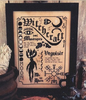 Witchcraft - (Cross Stitch)